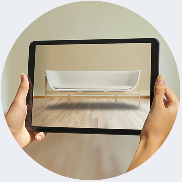 Visualising a sofa in Augmented Reality