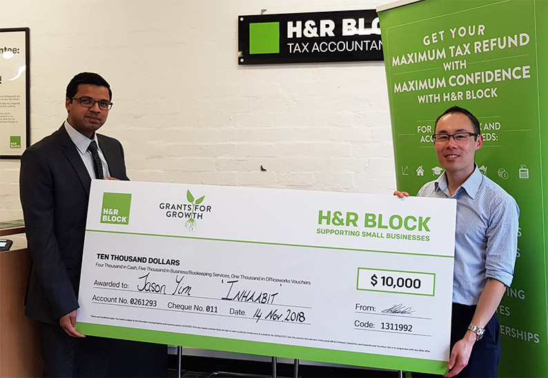 INHAABIT Win H&R Block's Grants For Growth