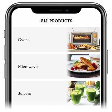 INHAABIT AR Appliance Category Screenshot