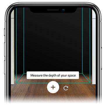 INHAABIT Augmented Reality Measurement