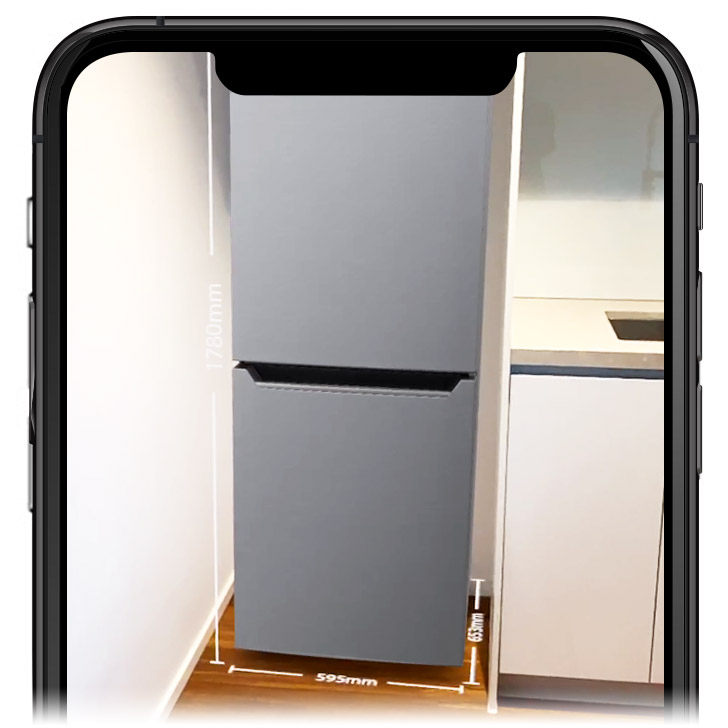 Augmented Reality Whitegoods