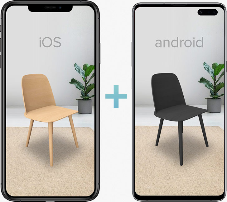 iOS & Android Cross Platform AR