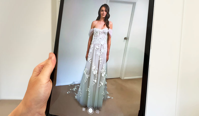 Say Yes to the Dress With Augmented Reality