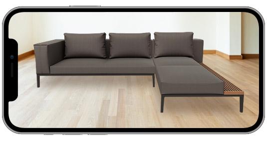 Augmented Reality Sofa